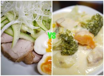 煮豚×クリームシチュー