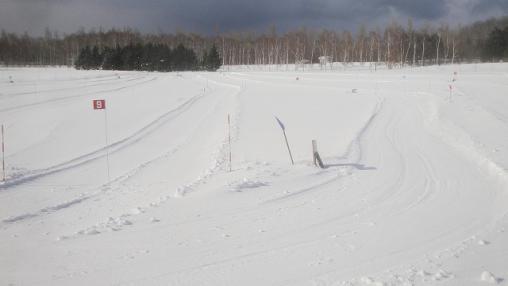 s-前田森林公園冬期コース 全景
