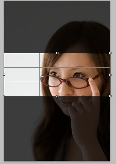 トリミング Photoshopで写真の切り抜く 切り抜きツール
