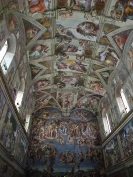 ローマ057システィーナ礼拝堂