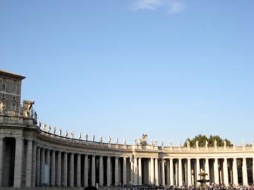 ローマ064サンピエトロ広場