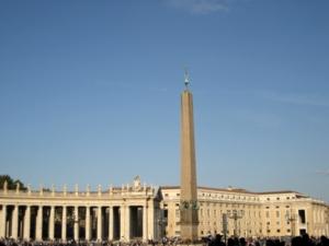ローマ065サンピエトロ広場