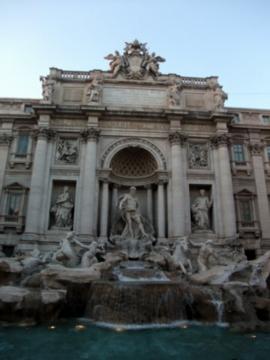 ローマ066トレビの泉
