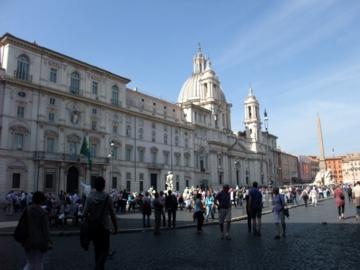 ローマ077ナヴォーナ広場