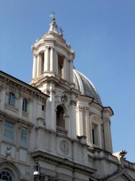 ローマ082ナヴォーナ広場教会