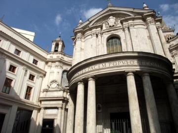 ローマ086サンタマリアデッラパーチェ教会