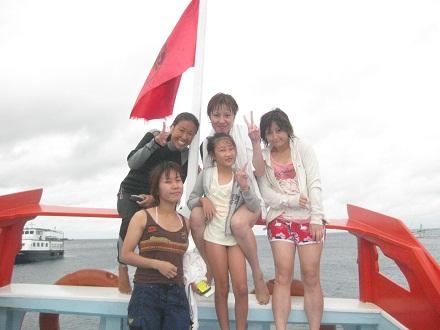 タオ島ダイビング 体験ダイビング ボート
