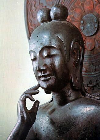 奈良、菩薩半跏像
