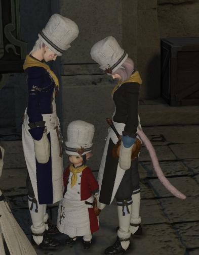 調理服3人