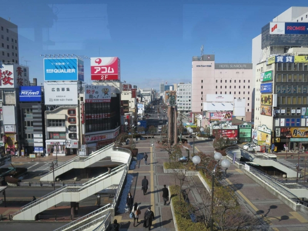 JR宇都宮駅西口