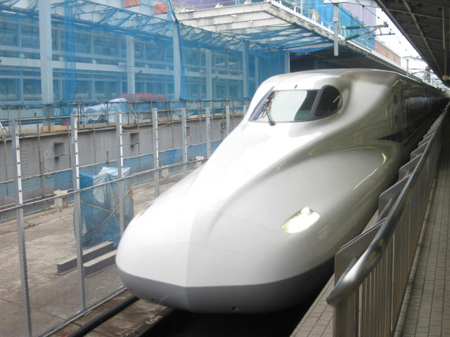 新幹線 久々