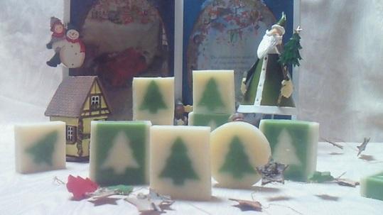 クリスマス石鹸1