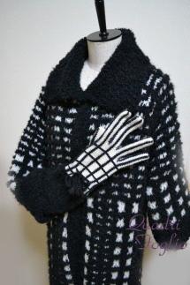2011 A/W ラグランコート お揃いの手袋と