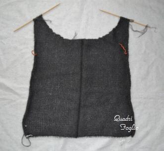 2011 A/W セーター 前身頃
