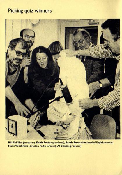 1994年1月10日~1994年3月26日 ラジオ・スウェーデン 英語放送案内