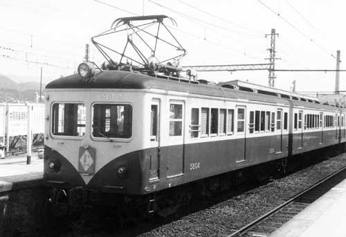 近鉄南大阪線モ5801形5804-非貫通時代-[9003595]