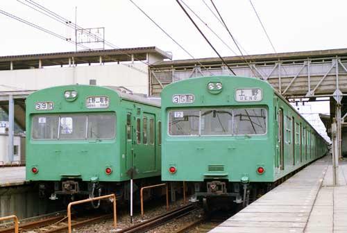 常磐線103系並び-[9000825]