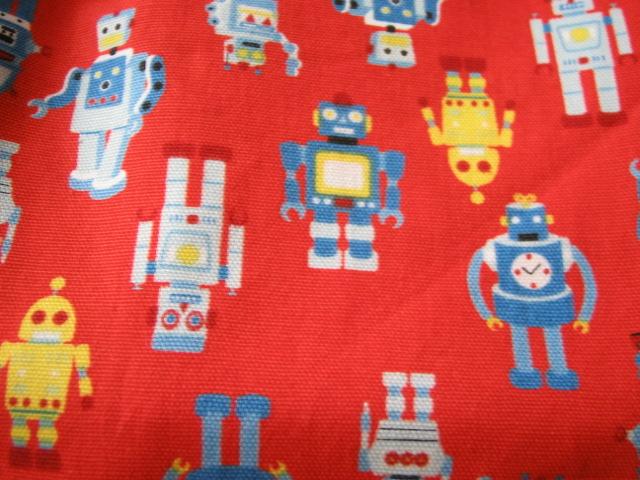 赤ロボットアップ