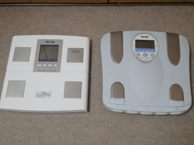 タニタ体組成計(体脂肪計・体重計)BC-705-SV