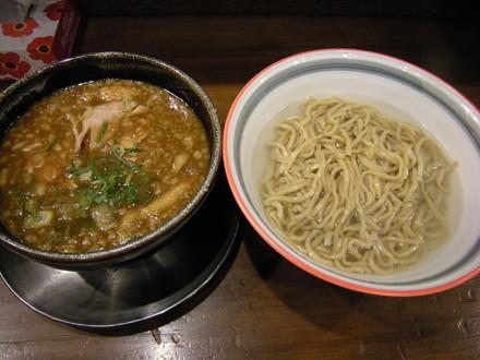 超濃厚ブラックまりおつけ麺(1260円)