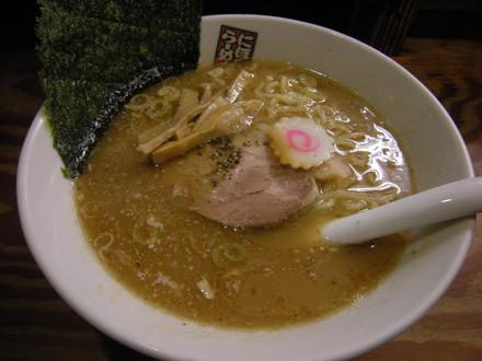煮干しラーメン(680円)