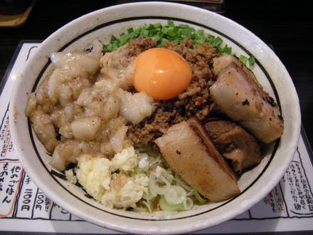 元祖台湾まぜそば(750円)+ど肉(300円)+背アブラ