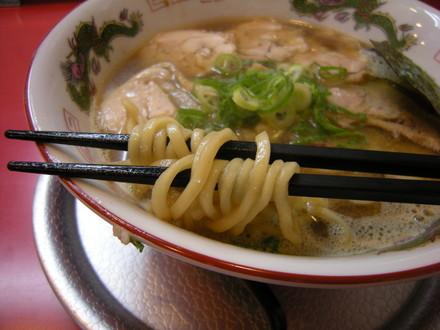 煮干魂の麺