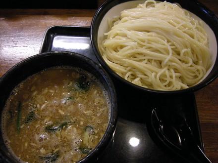 醤油つけ麺(濃い味)(850円)
