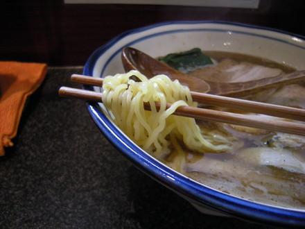 かけ並の麺