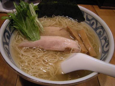 鯛だし塩そば(650円)