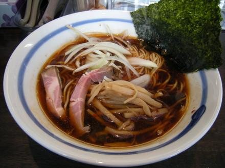 秋刀魚の塩焼正油らぁ麺(680円)