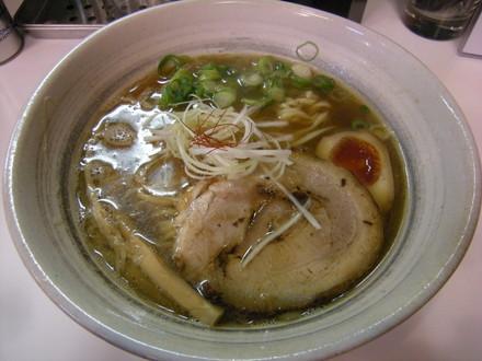 煮干そば 並(800円)