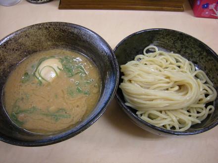 つけめん(新太麺)(600円)