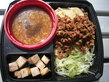 あんかけ卵とじつけ麺(800円)+台湾ミンチ(200円)