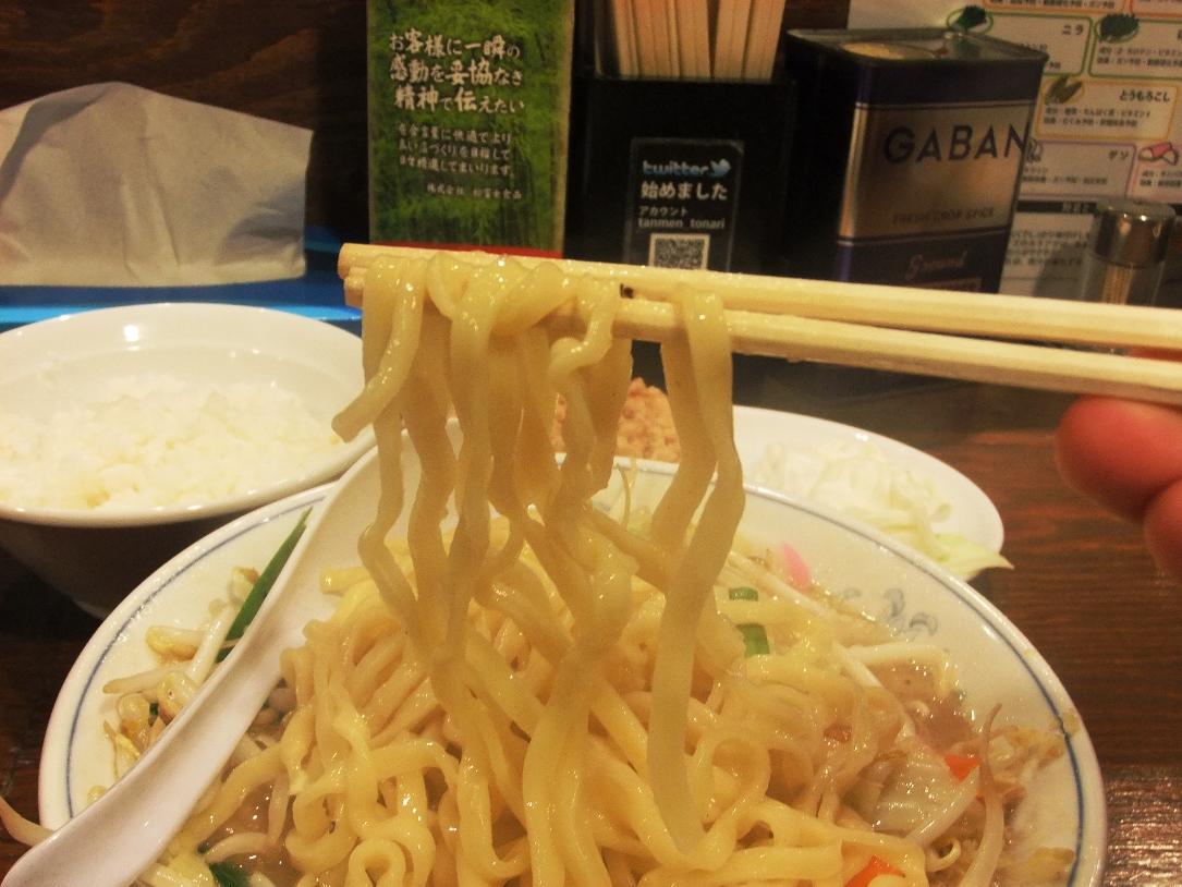 トナリ 丸の内店:麺2 11.09.18