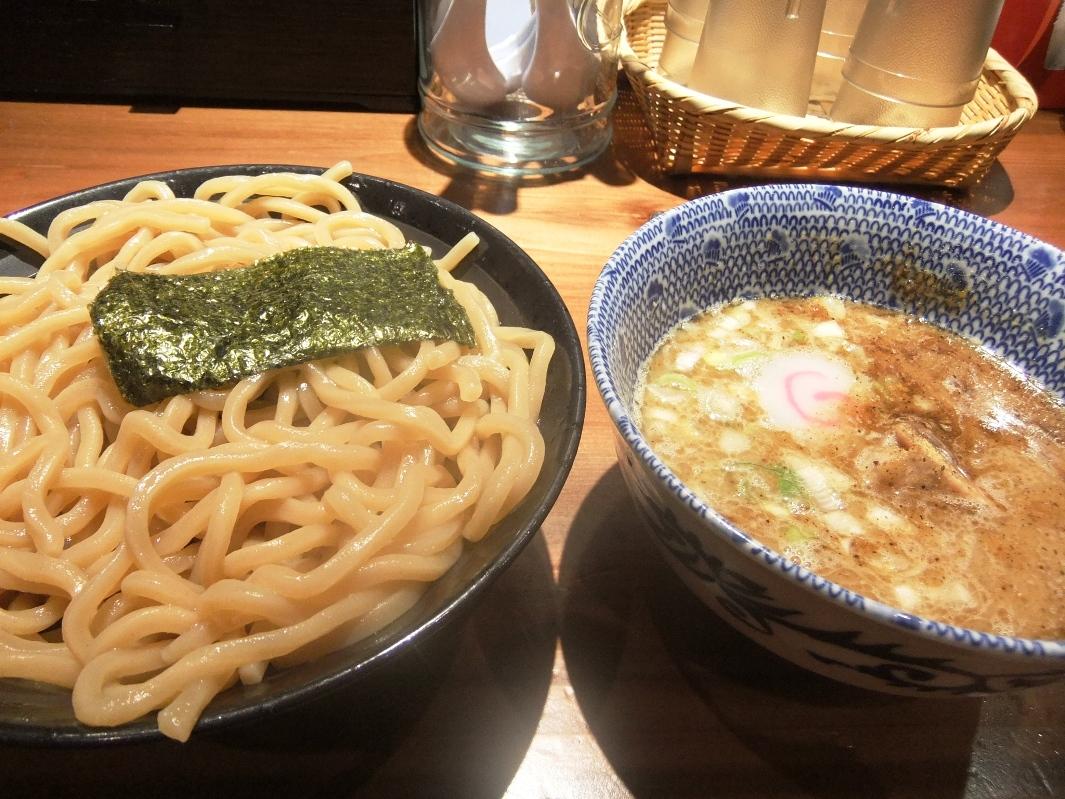 仁鍛 クロスガーデン川崎店:つけめん(あつもり) 11.09.22