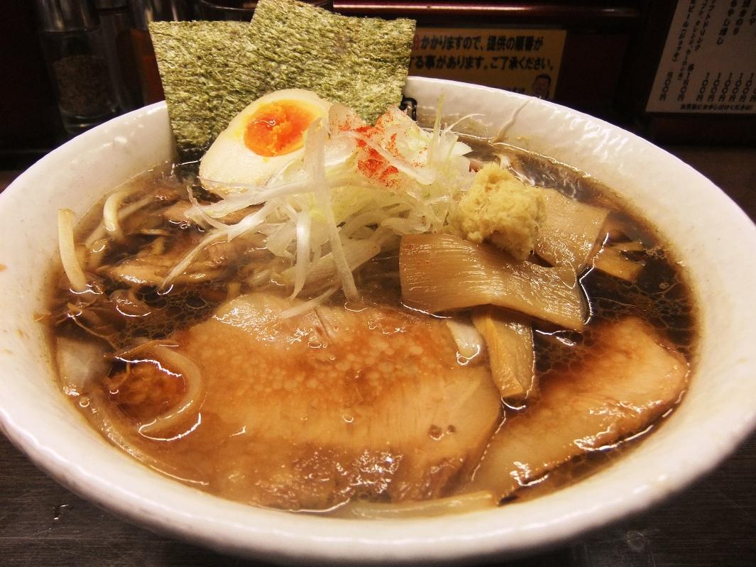 肉そば総本山 神保町 けいすけ:肉そば極み(醤油) 11.09.23