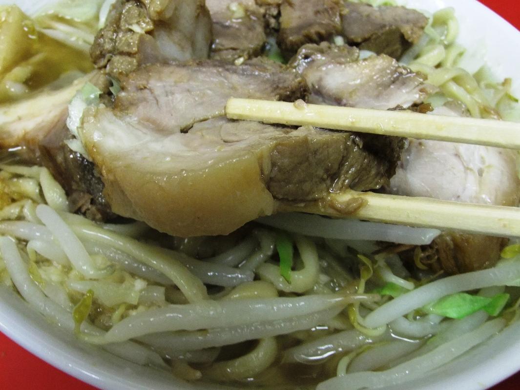 ラーメン二郎 千住大橋駅前店:豚2 11.09.24
