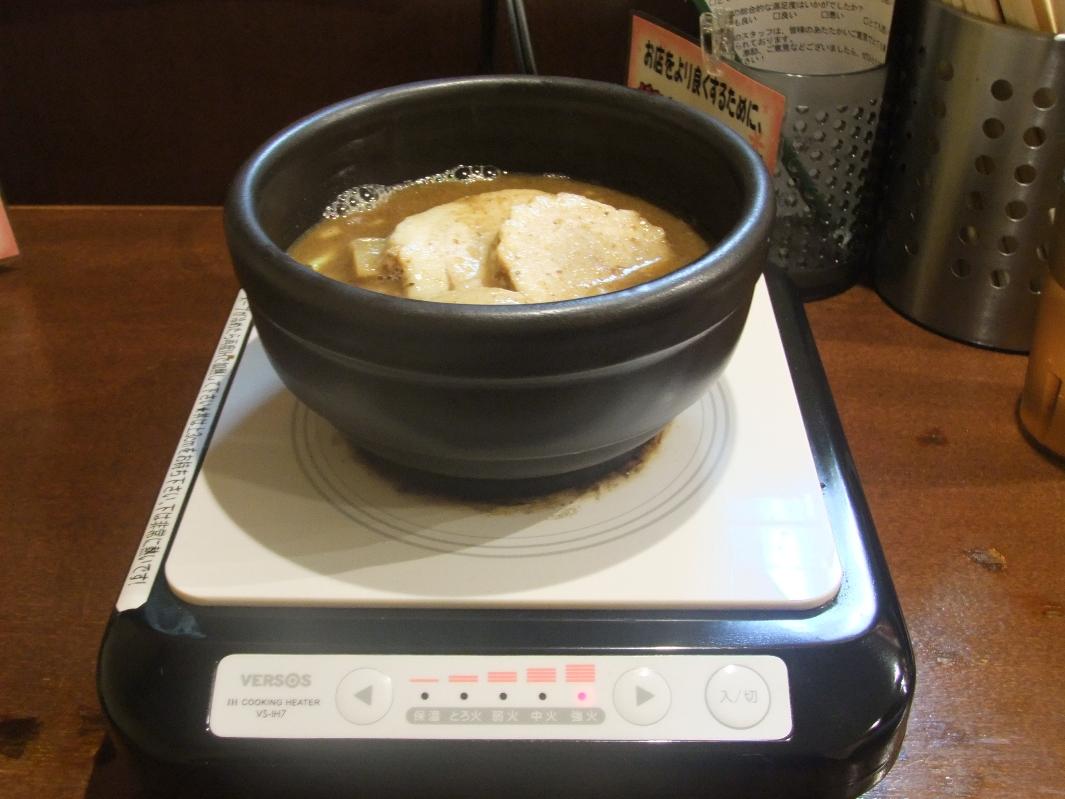 つけめん あびすけ 元住吉店:スープ 11.10.02