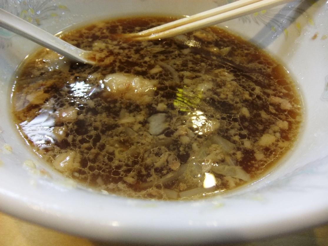 ラーメン二郎 荻窪店:スープ 11.10.16