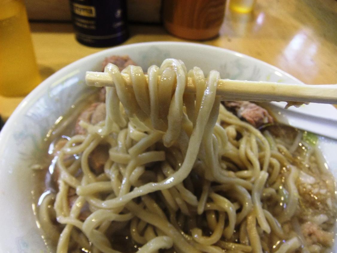 ラーメン二郎 荻窪店:麺2 11.10.16