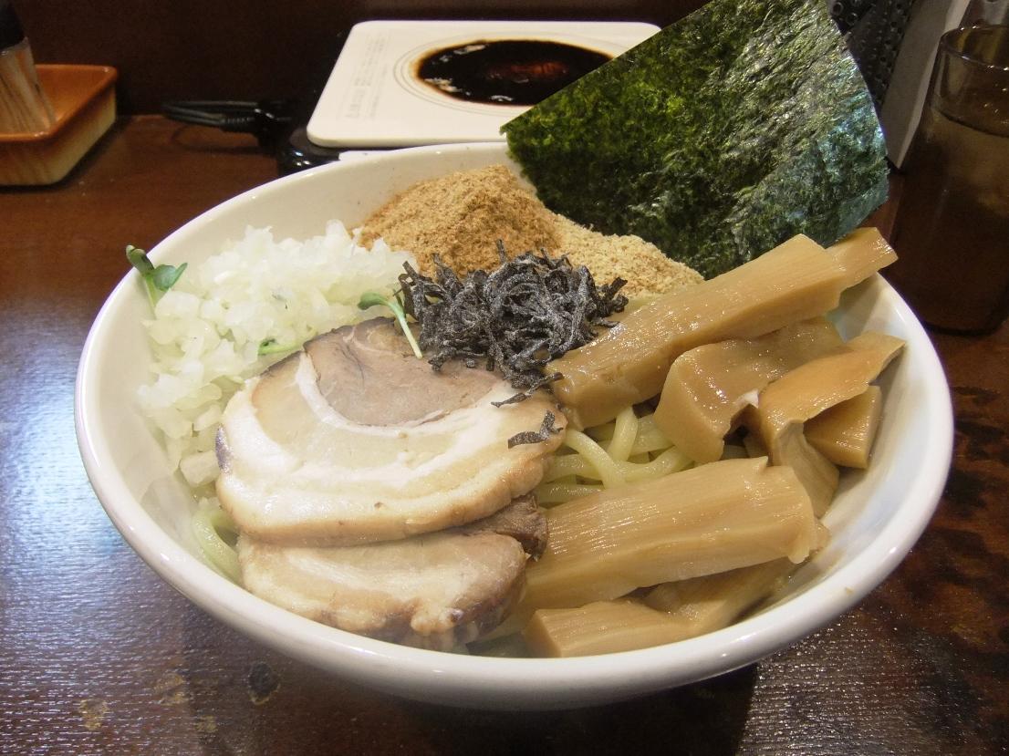 つけめん あびすけ 元住吉店:油そば(太メンマ) 11.10.25