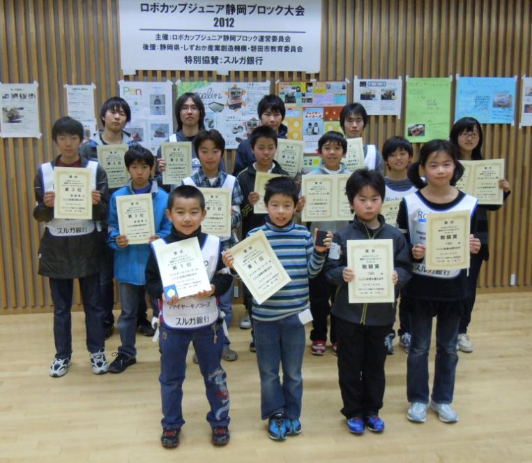 静岡ブロック大会2012サッカー受賞者