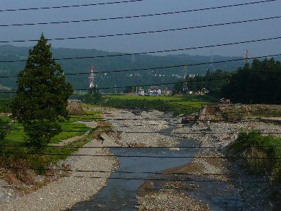 流された羽根川鉄橋