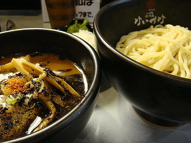 つけ麺(3辛)@極辛BLACK つけ麺七代目けいすけ@秋葉原