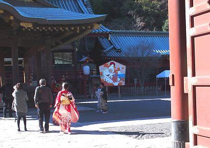 浅間神社の未大絵馬-2