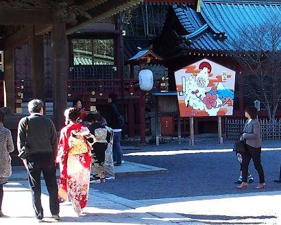 浅間神社の未大絵馬-3