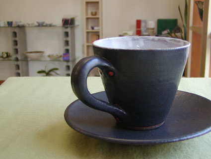 A 黒カップ