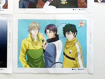PASH!1月号新テニスの王子様ポスター跡部、白石、赤也