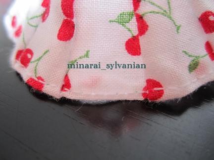レトロスカート縫い目